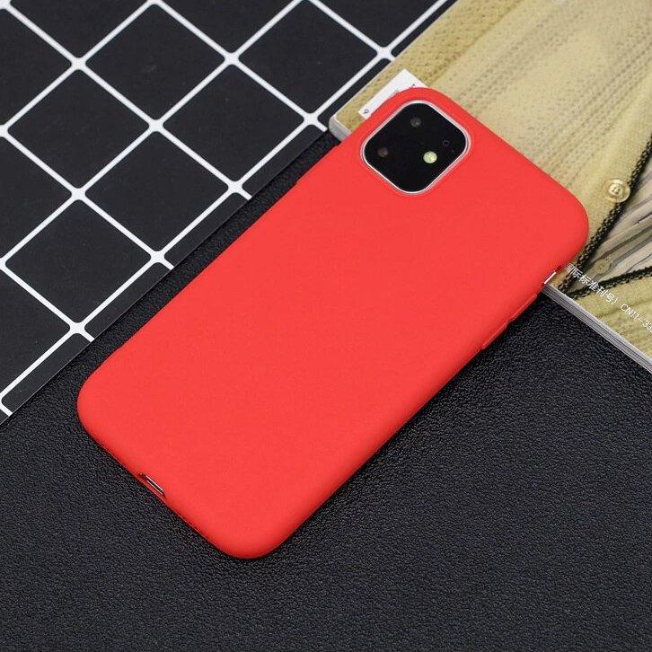 Silikónové púzdro LUX na iPhone 11 Pro red