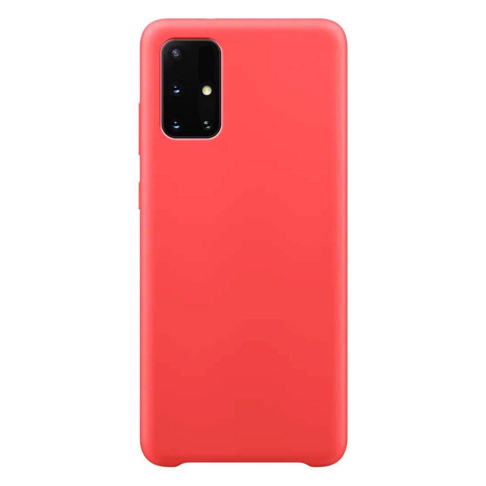Silikónové púzdro LUX na Samsung Galaxy M51 red