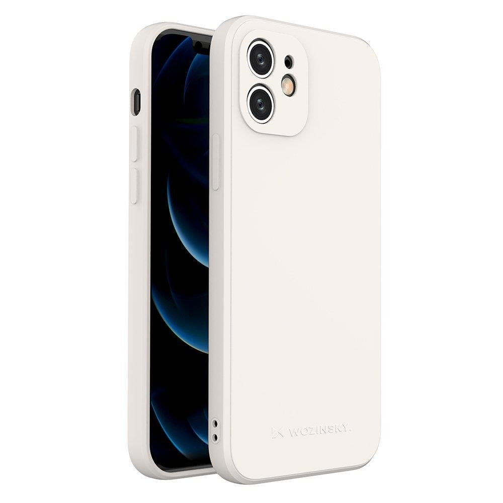 Wozinsky Color Case silikónové puzdro na iPhone SE 2020 / iPhone 8 / iPhone 7 white
