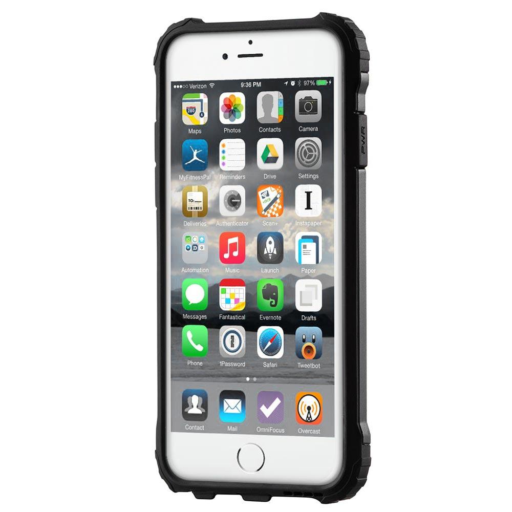 Hybrid pancéřové polykarbonátové pouzdro pro iPhone 11 Pro (2019) black