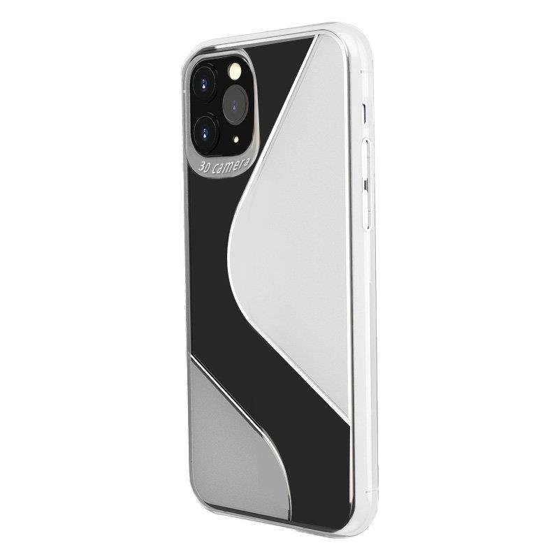 S-Case silikónové púzdro pre Samsung Galaxy A51 transparent