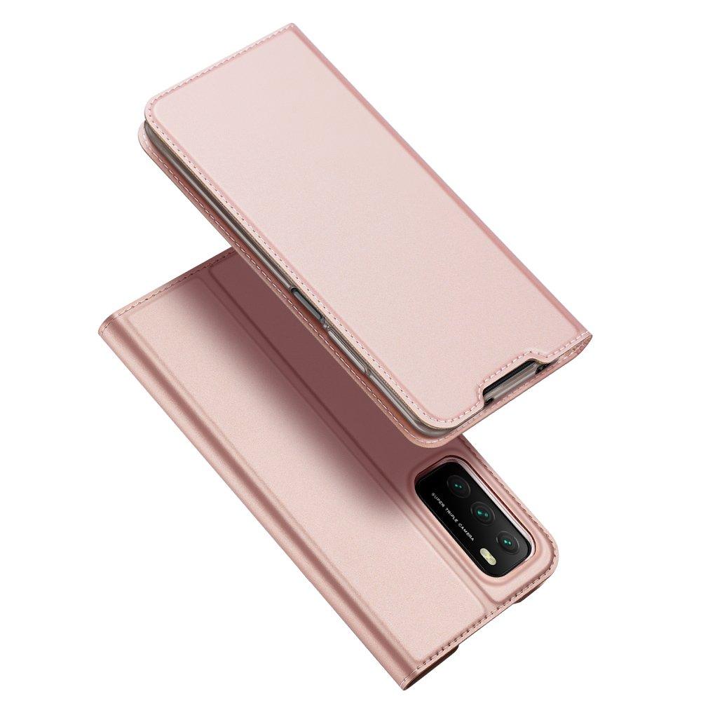 DUX DUCIS Skin knížkové púzdro pre Xiaomi Redmi 9T / Poco M3 pink