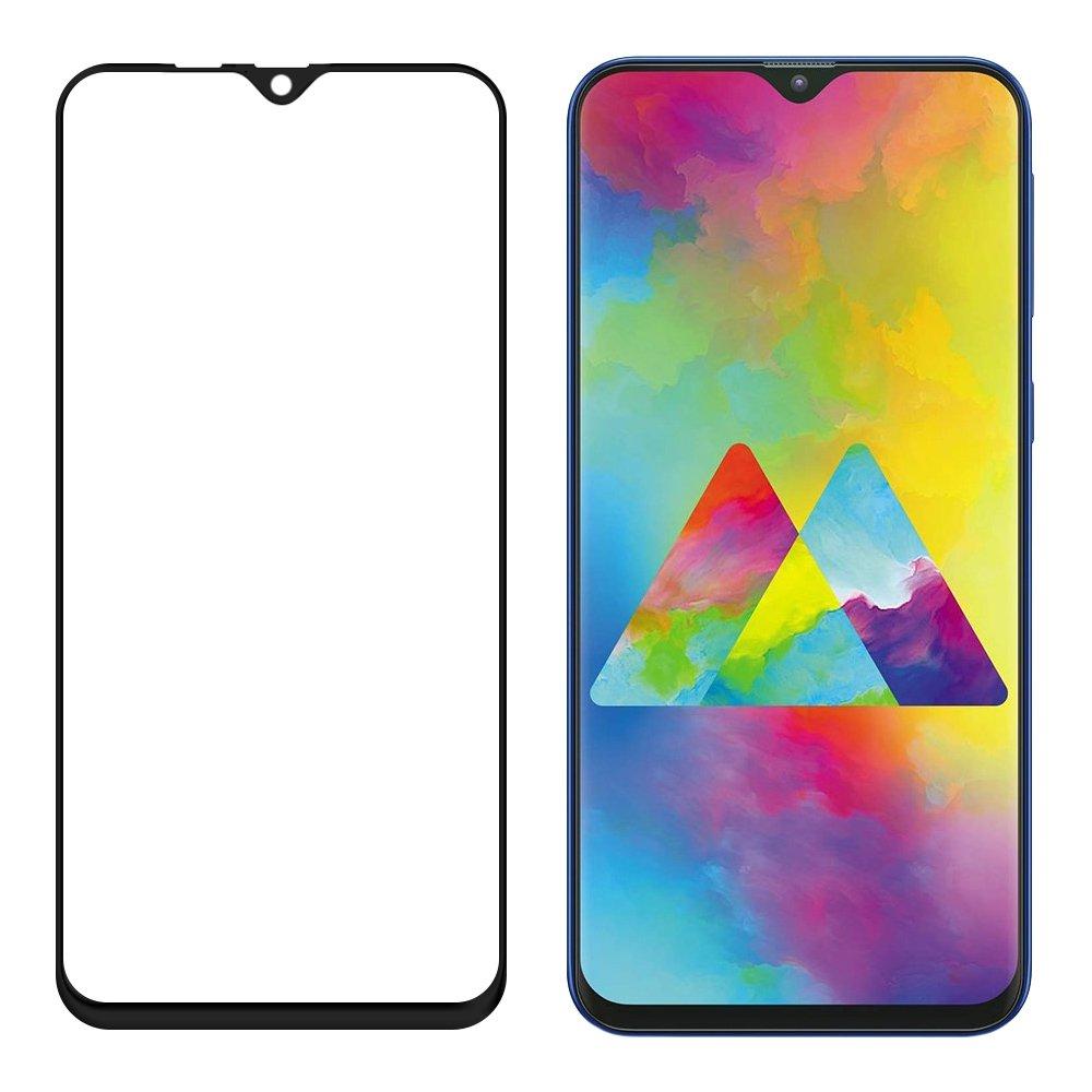 Celoplošné temperované tvrzené sklo 9H pro Samsung Galaxy M10 black