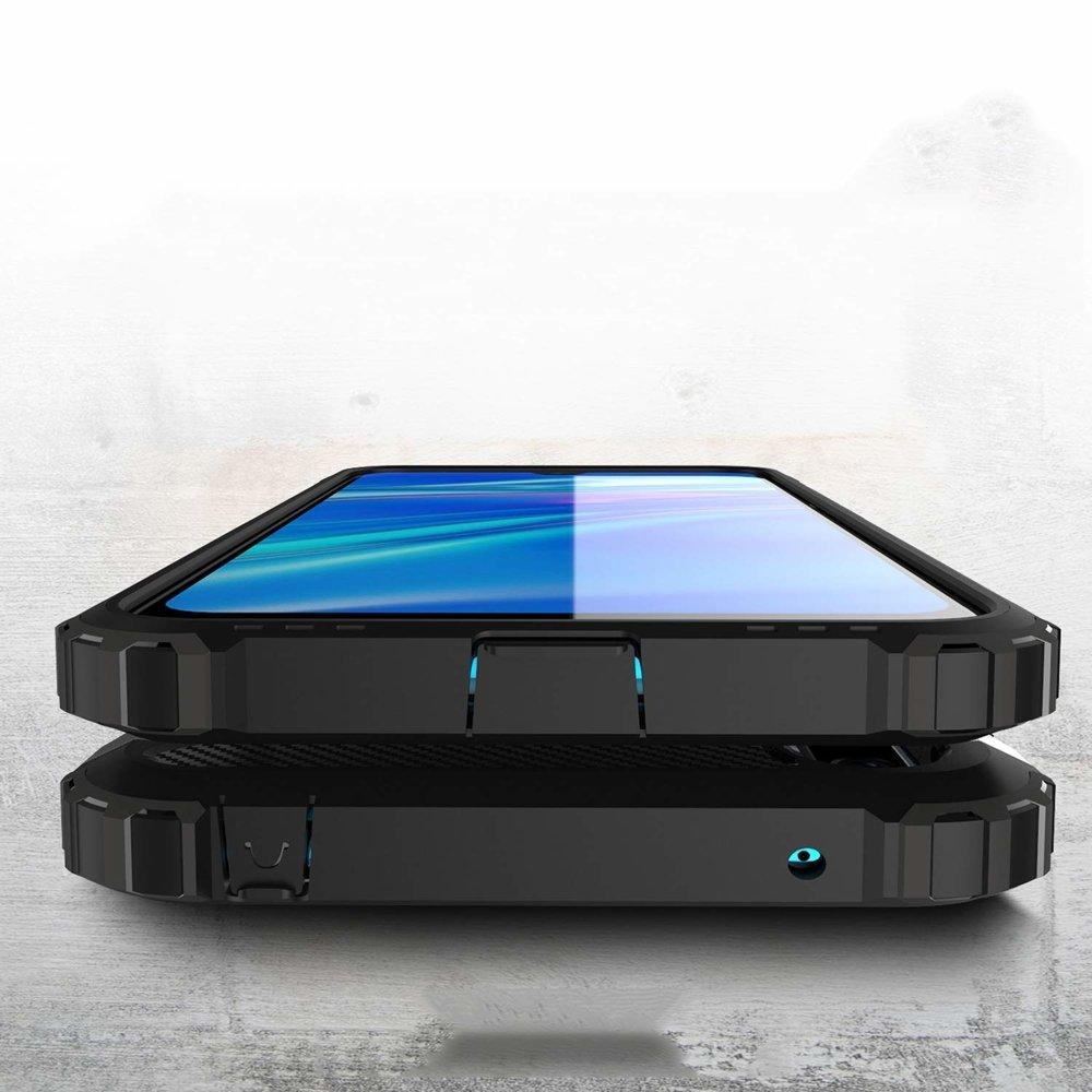 Hybrid pancéřové polykarbonátové pouzdro na Huawei Y7 2019 / Y7 Prime 2019 silver
