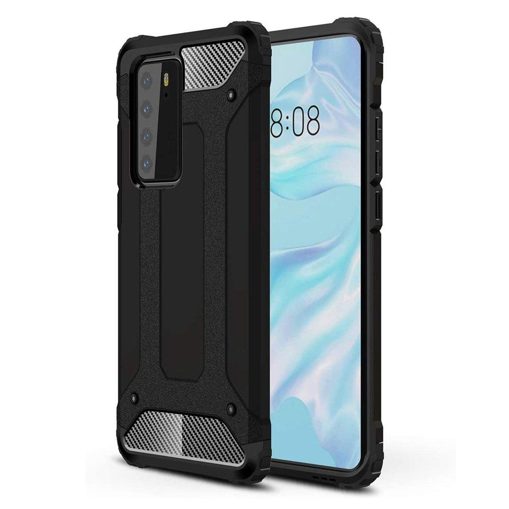 Hybrid Armor Case odolné pouzdro pro Huawei P40 , černá 9111201899407
