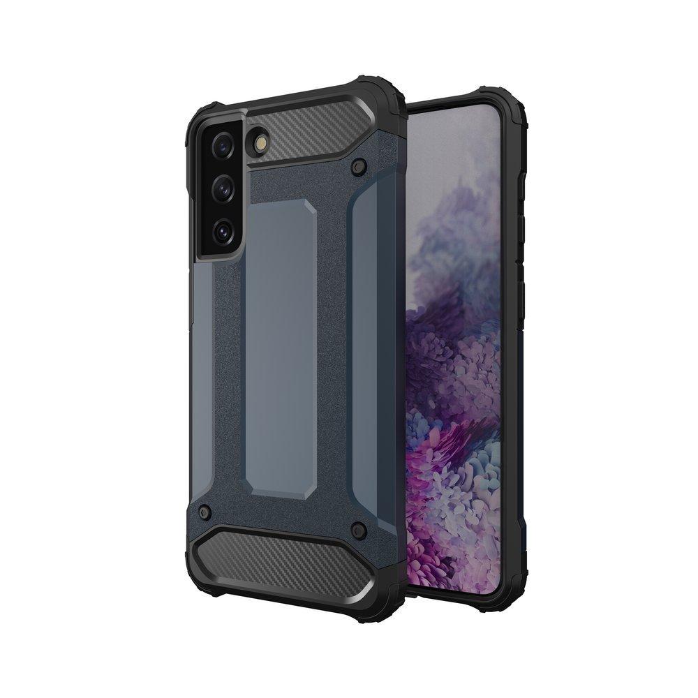 Hybrid Armor Case odolné pouzdro pro Samsung Galaxy S21 5G , modrá 9111201923614
