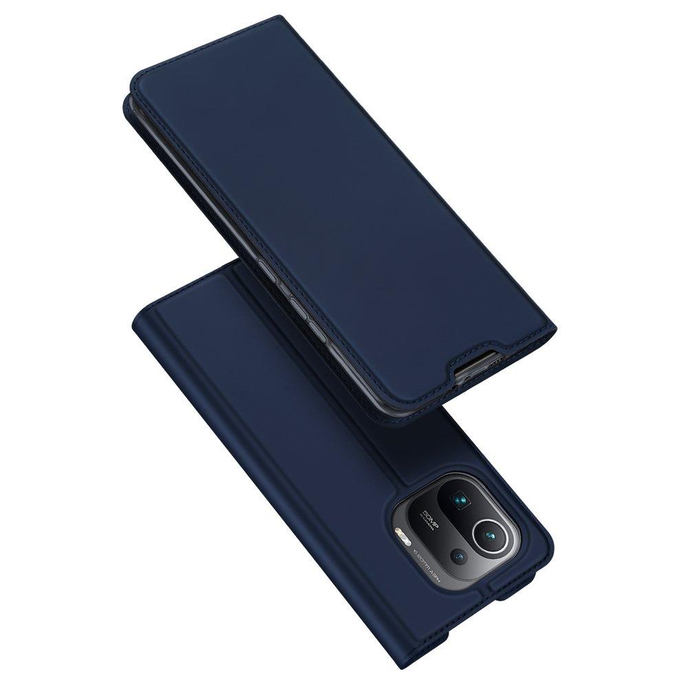 Flipové pouzdro Dux Ducis skin Xiaomi Mi 11 Pro , modrá