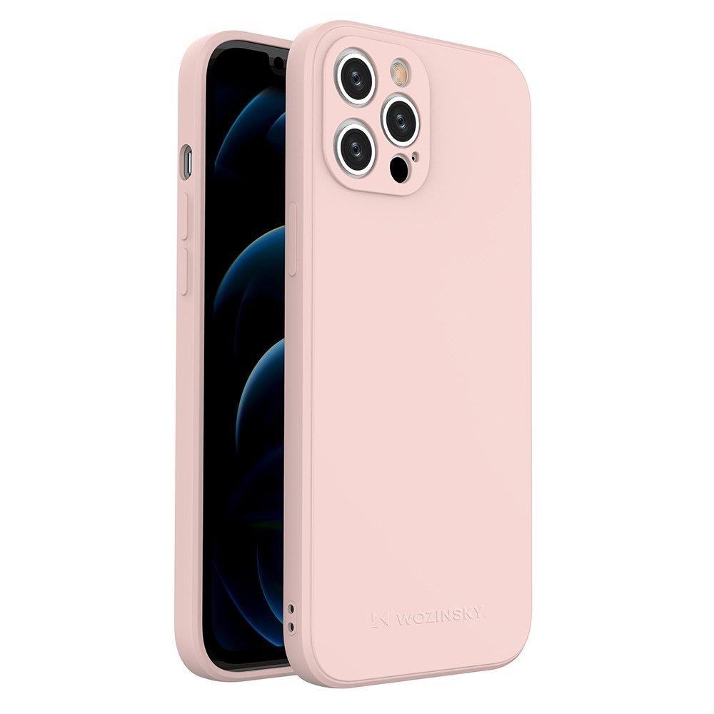 """Wozinsky Color Case silikónové puzdro na iPhone 12 Pro MAX 6,7"""" pink"""