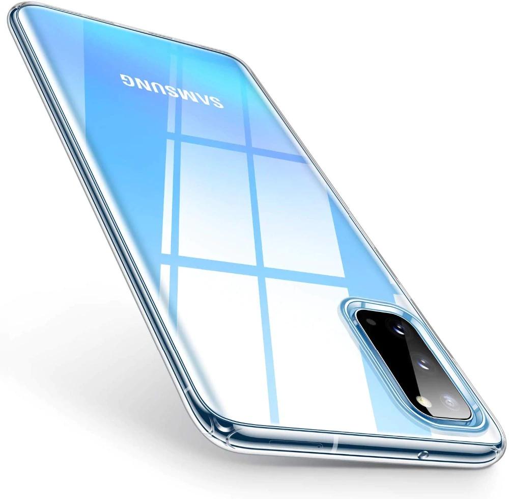 Ultra čistý 0,5 mm púzdro na gél TPU pre Samsung Galaxy S20 Ultra priehľadné