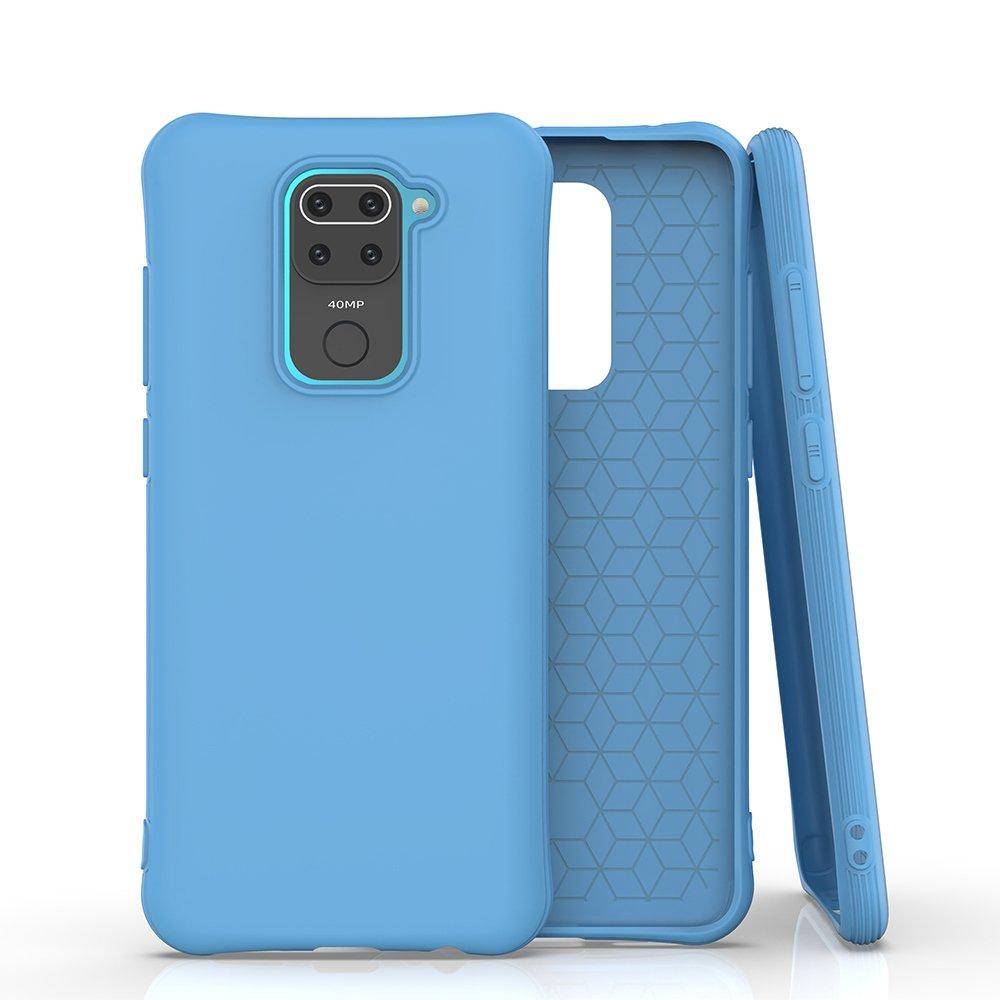 Gelové pouzdro Soft Color Case pro Xiaomi Redmi 10X 4G / Xiaomi Redmi Note 9 , modrá 9111201916494