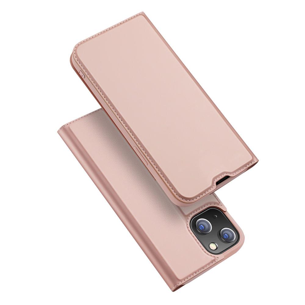 DUX DUCIS Skin knížkové púzdro preiPhone 13 Mini rose