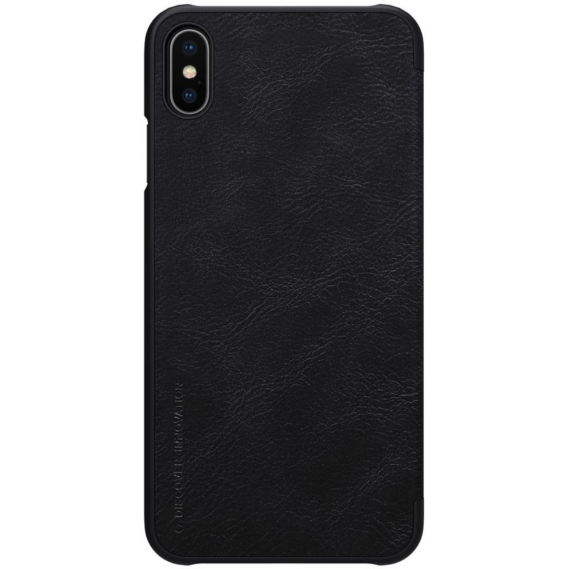 Nillkin Qin knížkové pouzdro na iPhone XS Max black