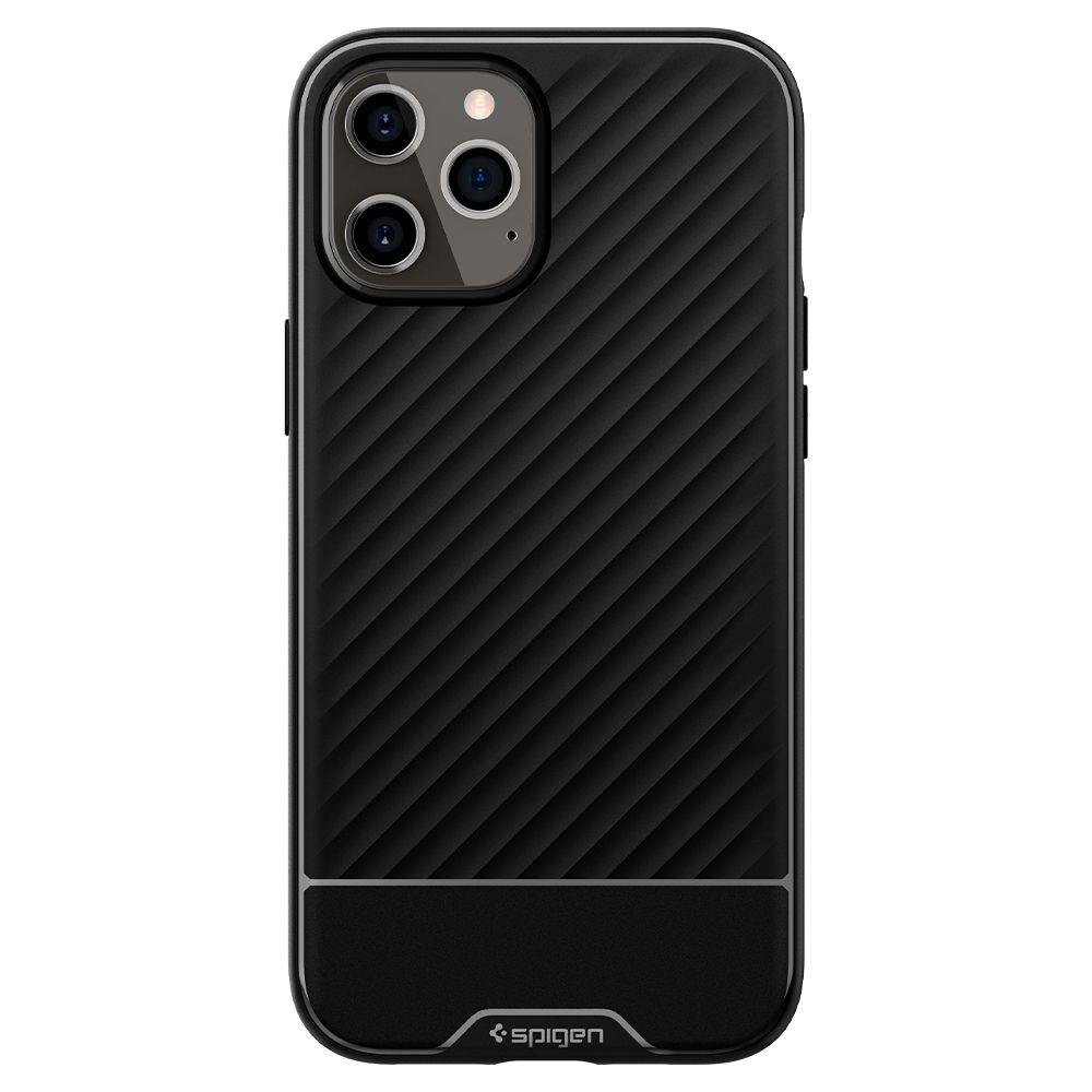 Spigen Core Armor silikonové pouzdro na iPhone 12 / 12 Pro black