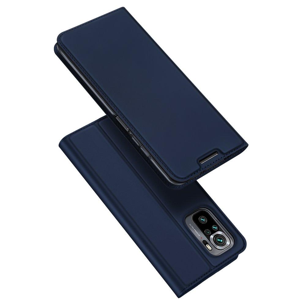 DUX DUCIS Skin knížkové pouzdro na Xiaomi Redmi NOTE 10 / Redmi NOTE 10S blue