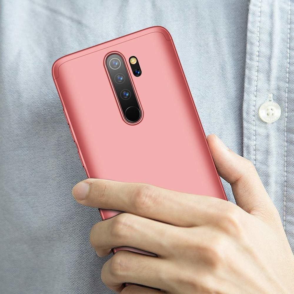 GKK 360 Protection pouzdro na Xiaomi Redmi 8A pink