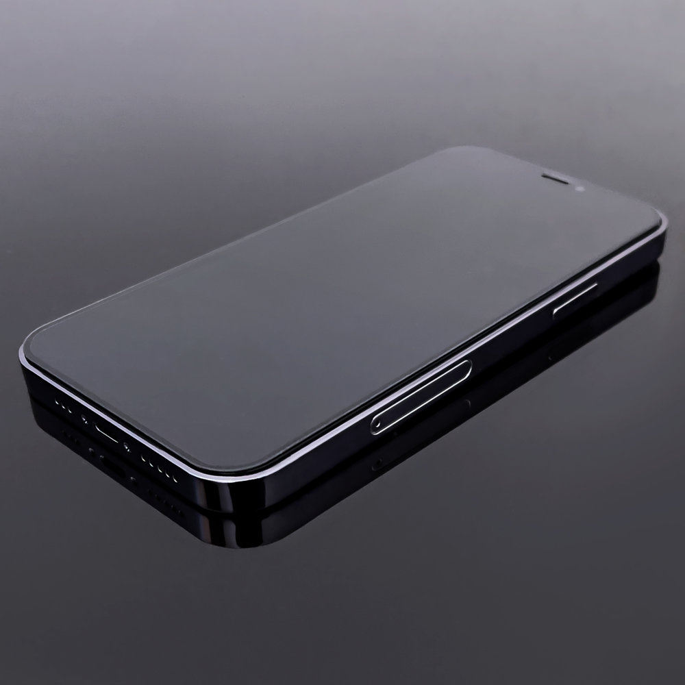 Celoplošně lepené temperované tvrzené sklo 9H na Xiaomi Redmi 9A / Redmi 9C black