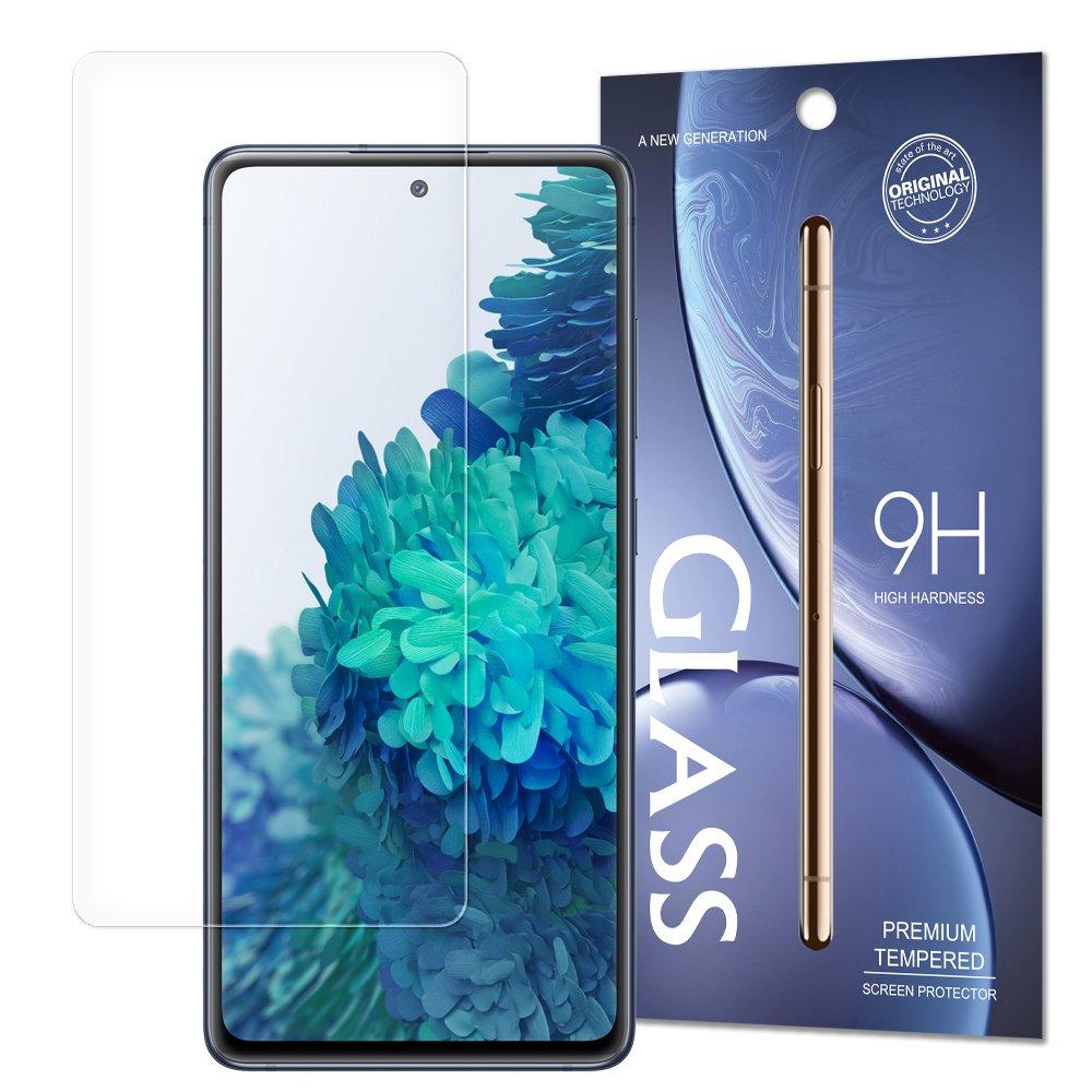 Temperované tvrdené sklo 9H pre Samsung Galaxy A72 (balené v obálke)