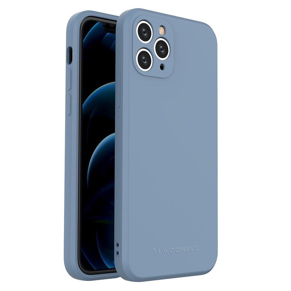 Wozinsky Color Case silikónové puzdro na iPhone 11 Pro blue