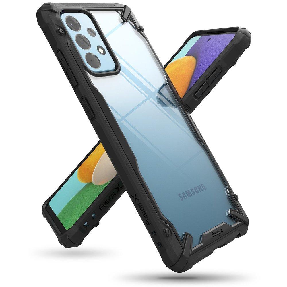 Ringke Fusion X pancéřové pouzdro na Samsung Galaxy A52 / A52 5G Black