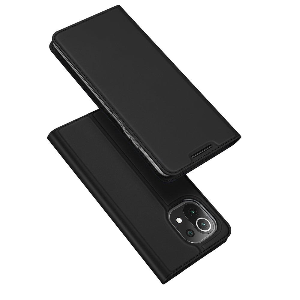 Flipové pouzdro Dux Ducis skin Xiaomi Mi 11 Lite 5G , černá