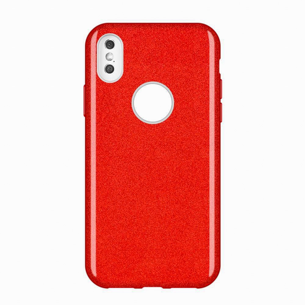 Wozinsky Glitter Shining silikonové pouzdro pro Huawei Mate 30 Lite red
