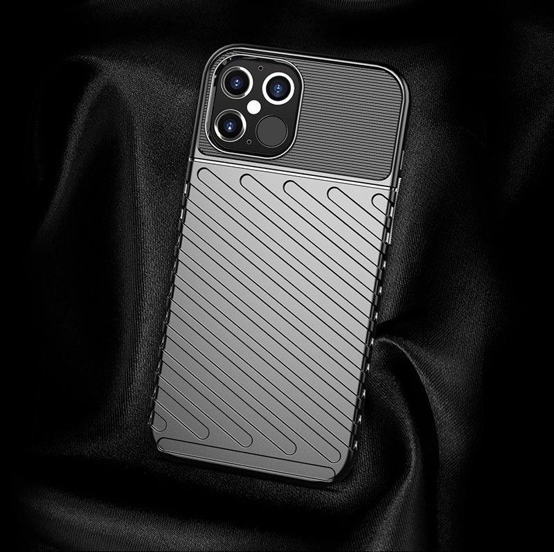 "Thunder silikonové pouzdro na iPhone 12 Pro Max 6.7"" green"