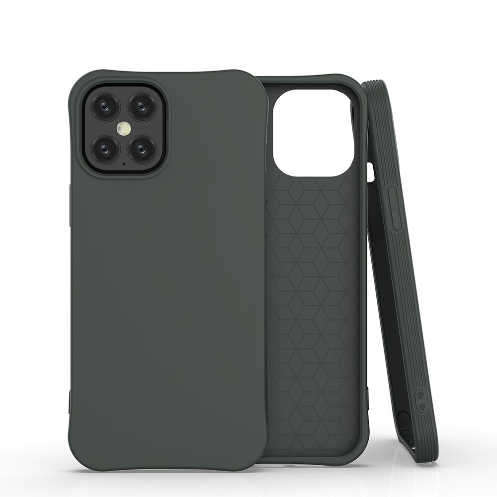 """Soft Color silikónové púzdro pre iPhone 12 Pro Max 6,7"""" dark green"""