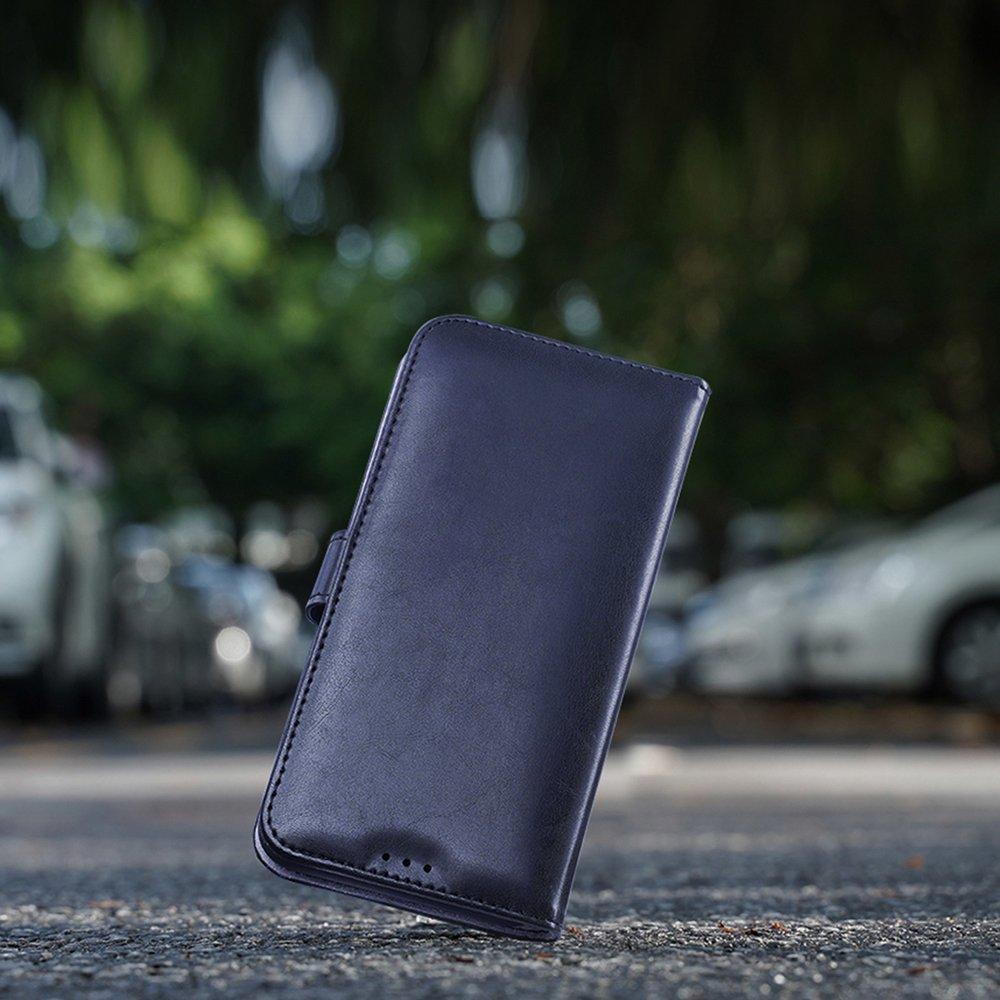 Dux Ducis Kado eko kůže knížkové pouzdro pro iPhone 11 Pro Max blue