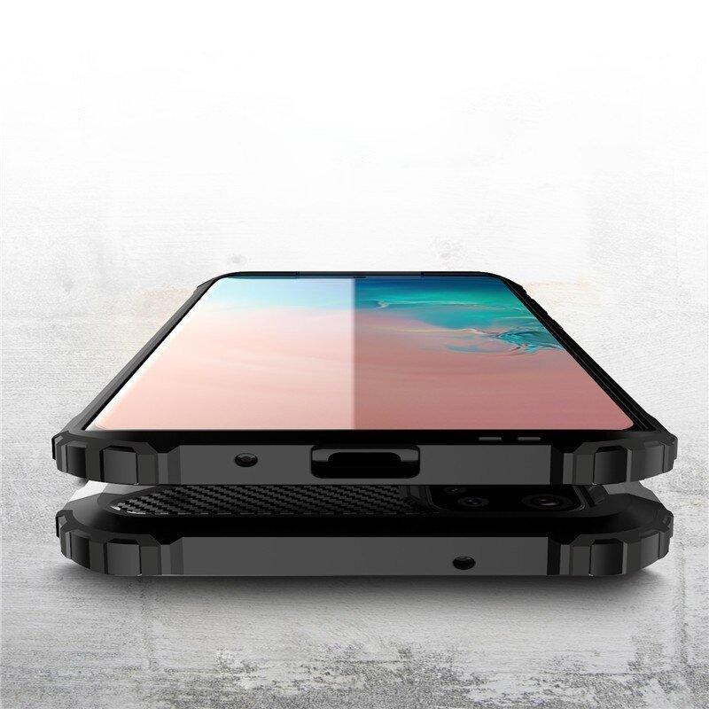 Hybrid pancéřové polykarbonátové pouzdro na Samsung Galaxy S20 Ultra blue