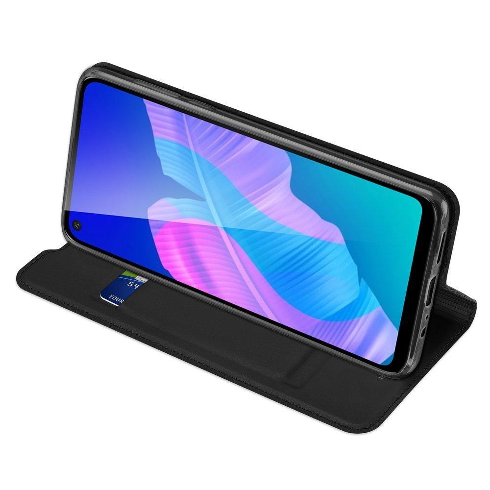 DUX DUCIS Skin knížkové pouzdro na Huawei P40 Lite E black