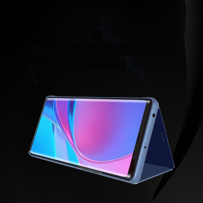 Knížkové pouzdro na Huawei Y5p black s průhlednou přední stranou
