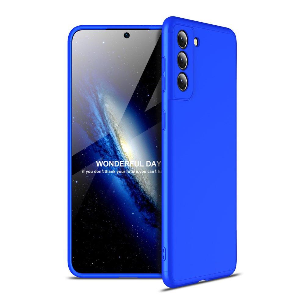 GKK 360 Protection pouzdro na Samsung Galaxy S21 5G blue