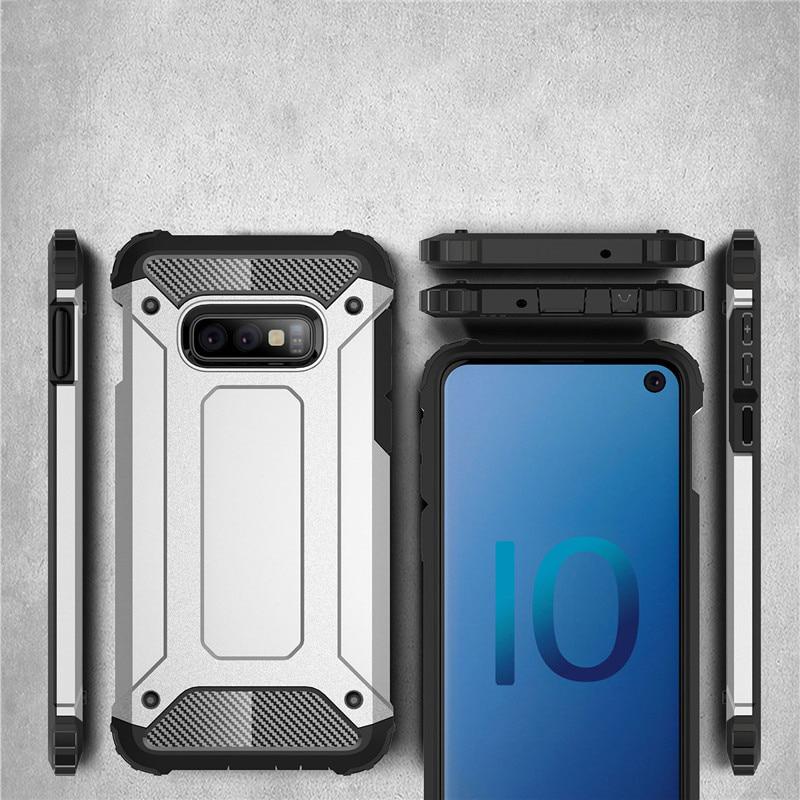 Hybrid polykarbonátové pouzdro pro Samsung Galaxy S10e black