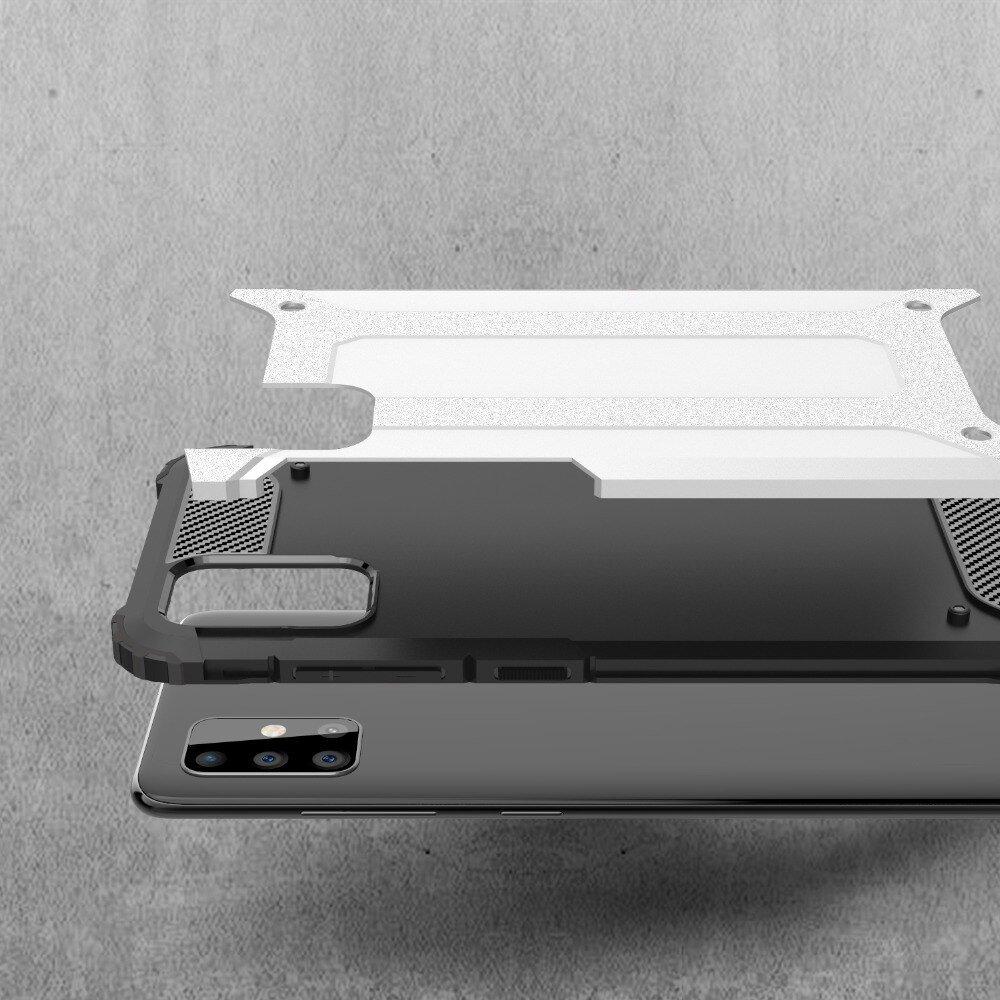 Hybrid pancéřové polykarbonátové pouzdro na Samsung Galaxy A71 black