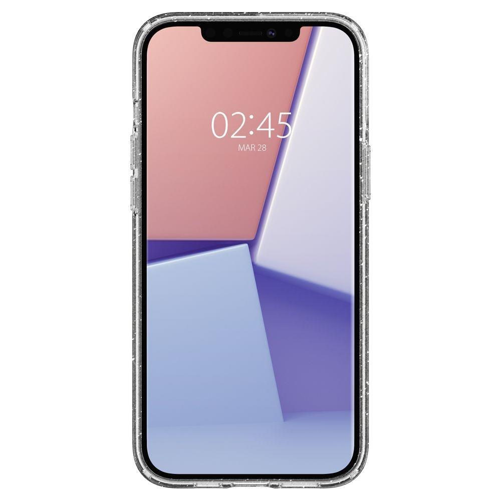 Spigen Liquid Crystal silikonové pouzdro na iPhone 12 / 12 Pro Glitter Crystal