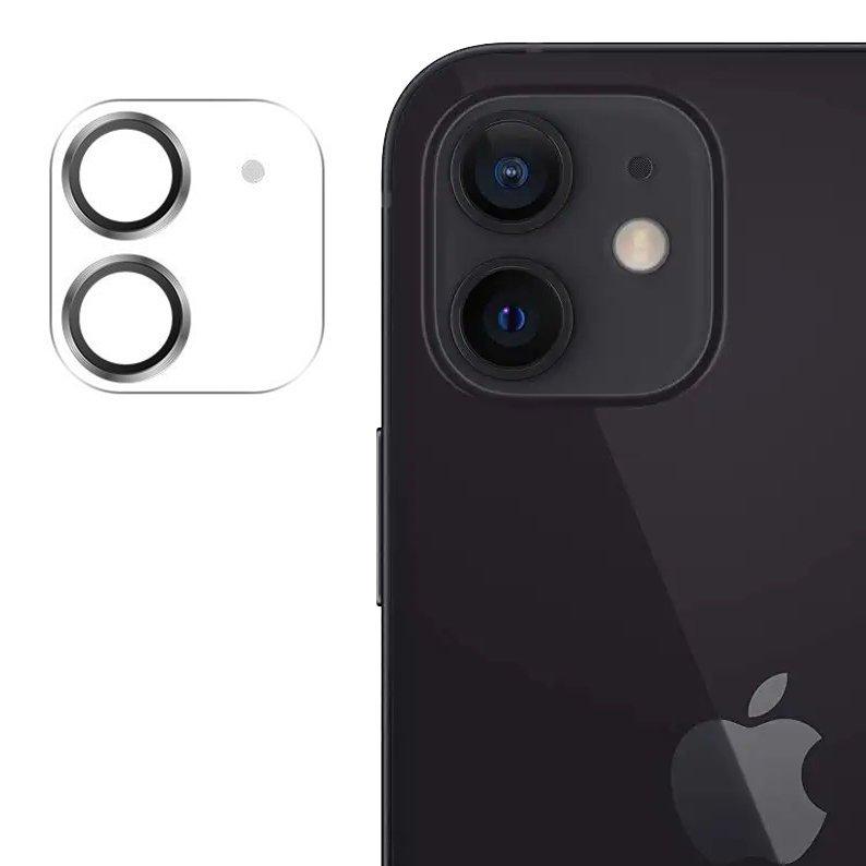 """Joyroom JR-PF686 štýlové ochranné sklo na celý fotoaparát iPhone 12 Mini 5.4 """" silver"""