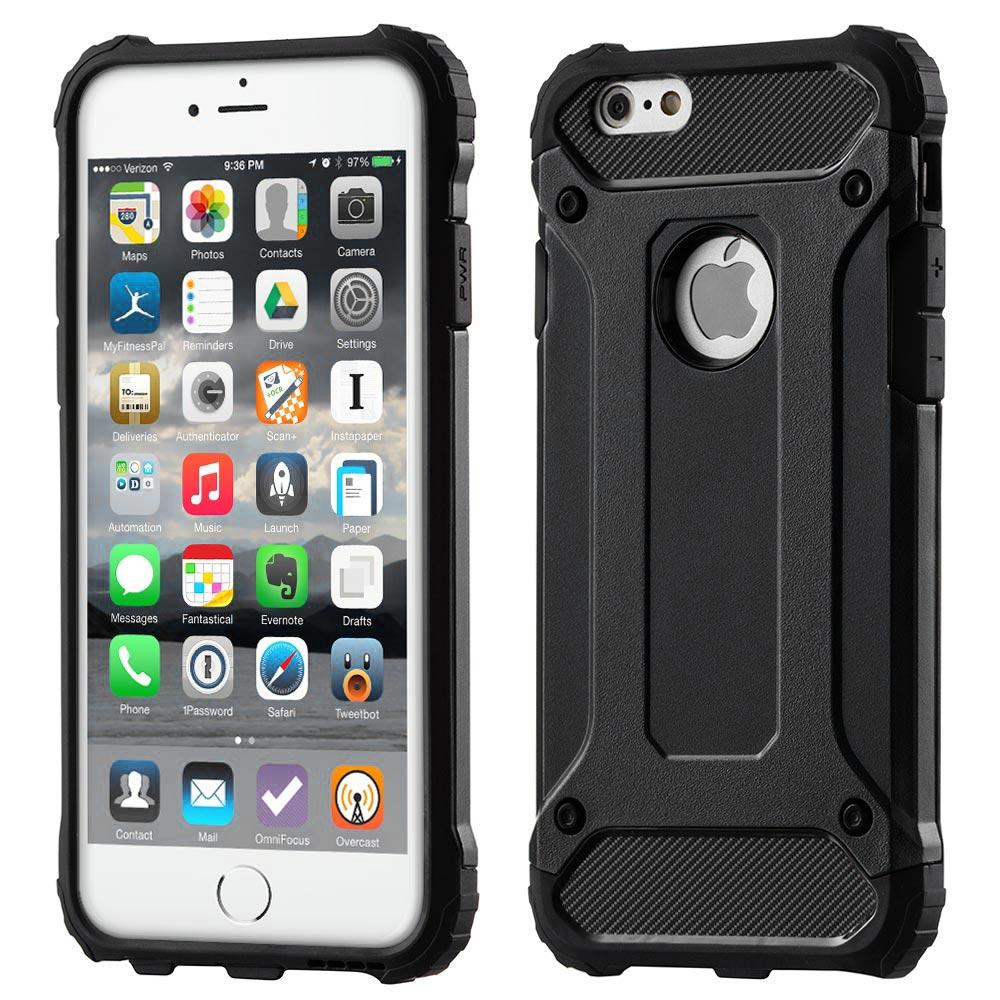 Hybrid Armor Case odolné pouzdro pro iPhone 11 , černá 7426825373977