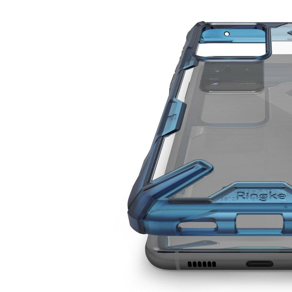 Ringke Fusion X pancierové puzdro preSamsung Galaxy S20 ULTRA space blue