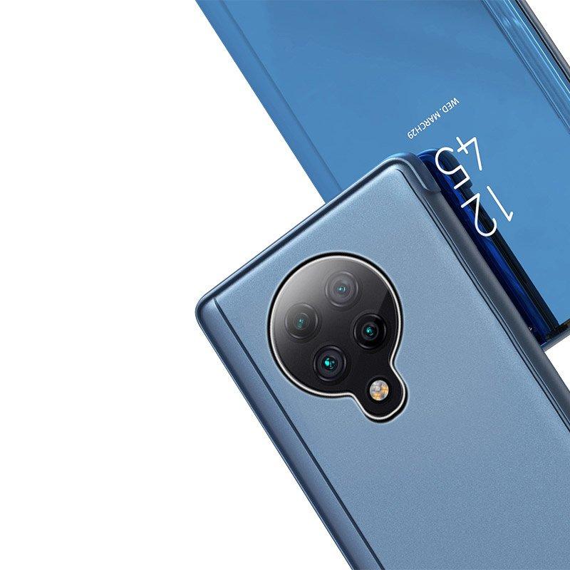 Knížkové pouzdro na Xiaomi Poco F2 Pro pink s průhlednou přední stranou