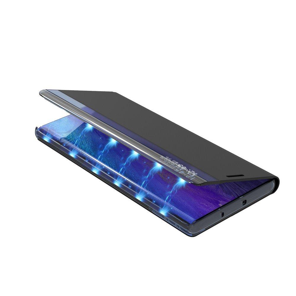 New Sleep knížkové pouzdro na Samsung Galaxy A71 blue