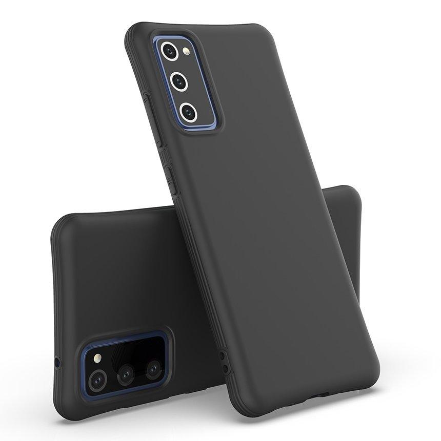 Gelové pouzdro Soft Color Case pro Samsung Galaxy M51 , černá 9111201916463