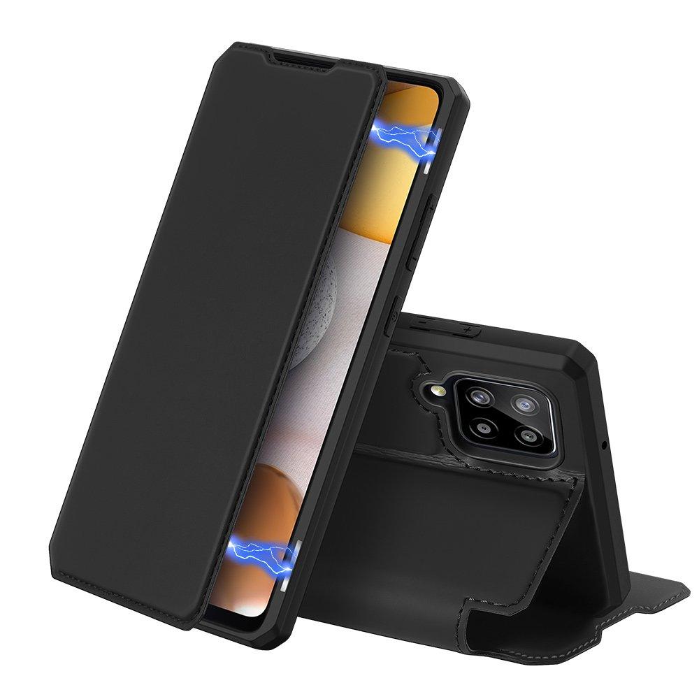 DUX DUCIS Skin X knížkové puzdro pre Samsung Galaxy A42 5G black