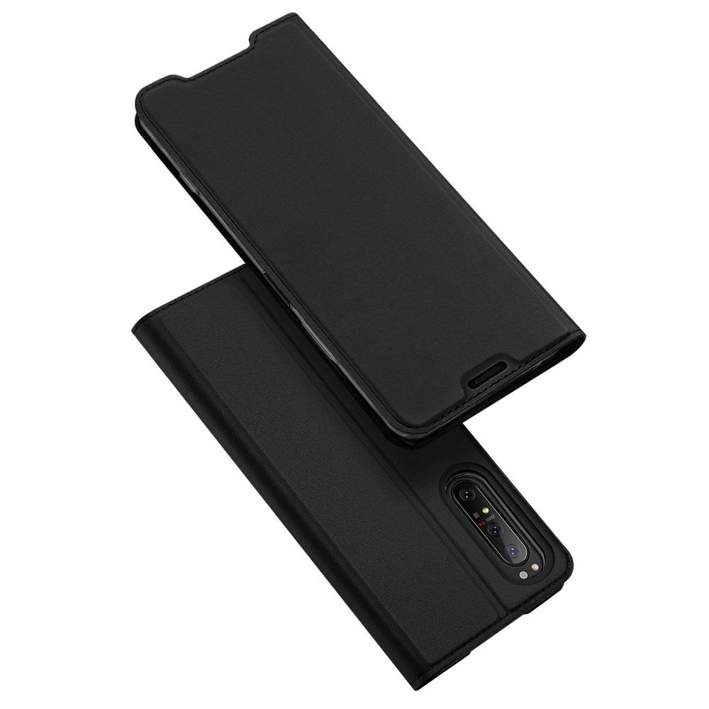 DUX DUCIS Skin knížkové púzdro pre Sony Xperia 1 II black