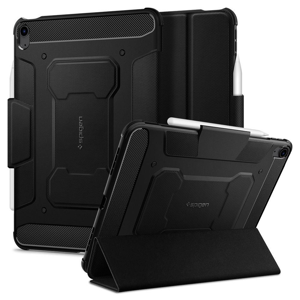 "SPIGEN RUGGED ARMOR ""PRO"" IPAD AIR 4 2020 BLACK 8809710759329"