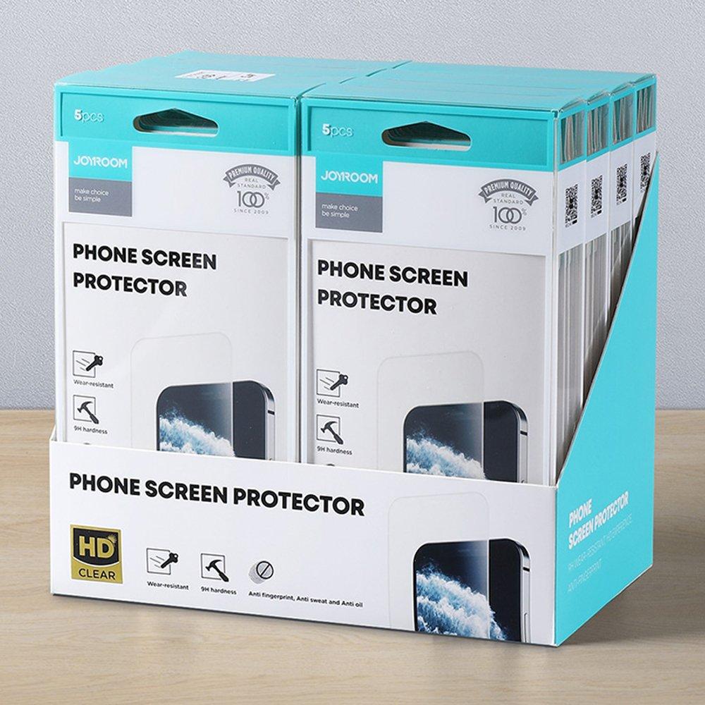 Joyroom Knight Series 40x set 2,5D Zaštitno staklo za iPhone 12 Pro Max transparent (JR-PF843)