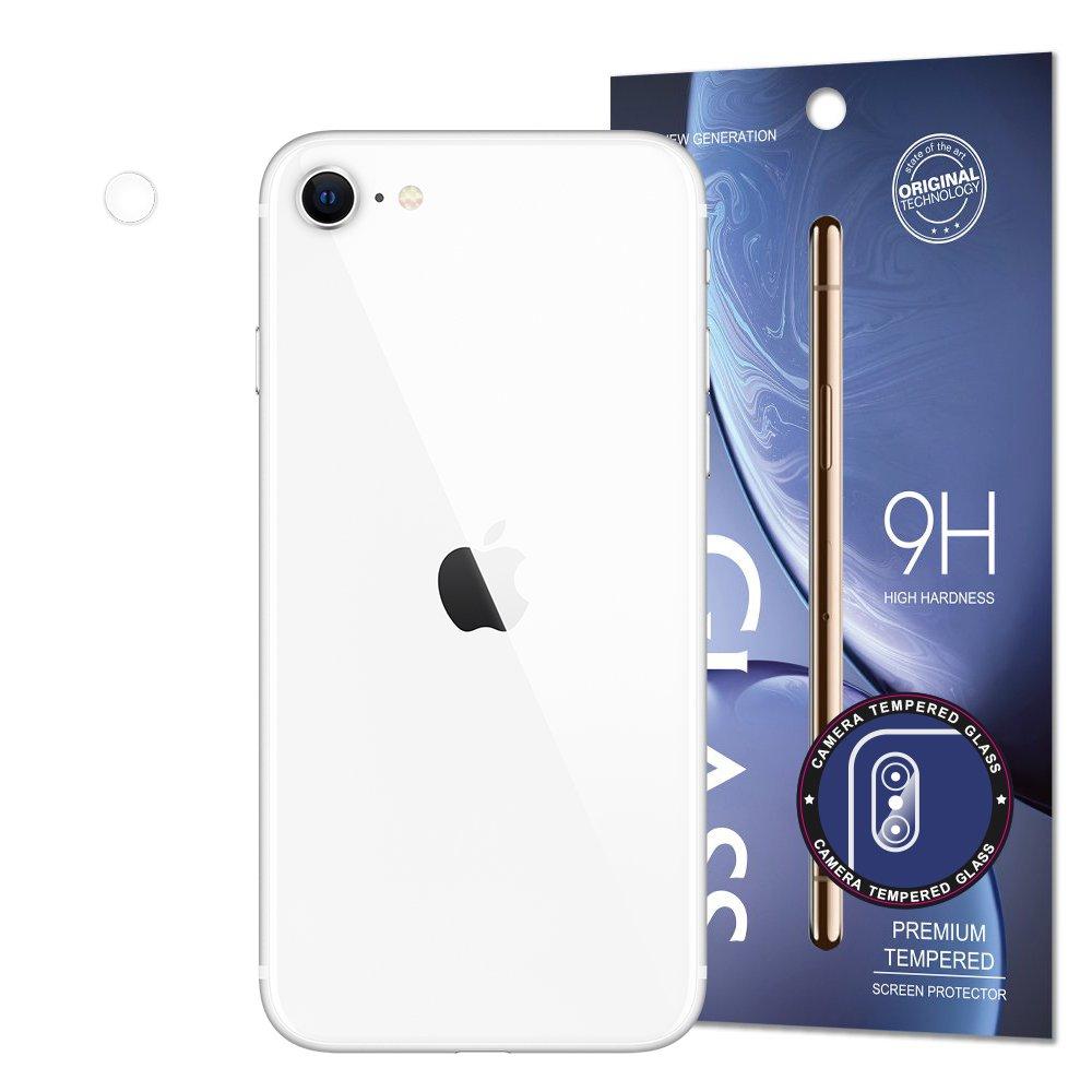 Temperované tvrdené sklo 9H na fotoaparát na iPhone SE 2020 / iPhone 8 / iPhone 7