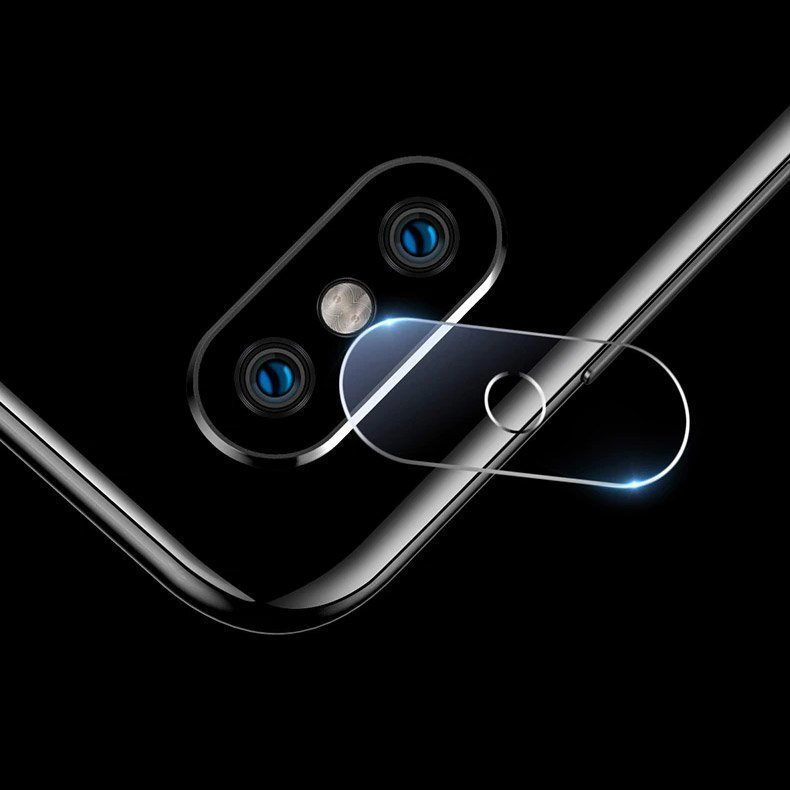Temperované tvrzené sklo 9H na fotoaparát na iPhone SE 2020 / iPhone 8 / iPhone 7