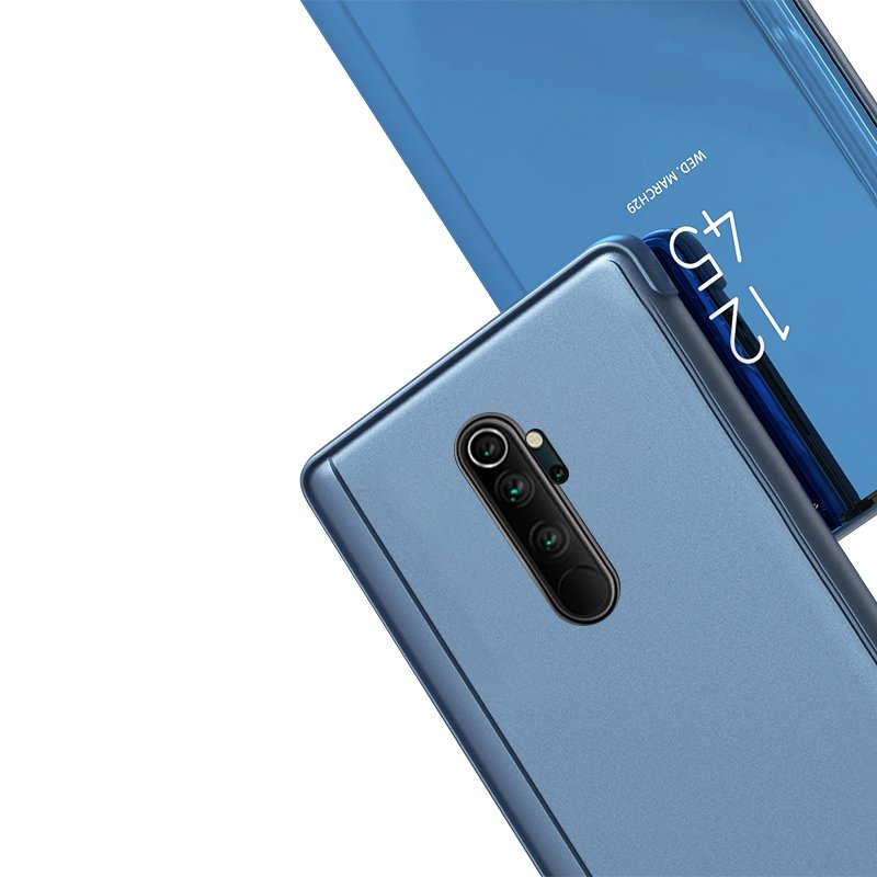 Knižkove púzdro pre Xiaomi Mi Note 10 / Mi Note 10 Pro / Mi CC9 Pro pink s priehľadnou prednou stranou