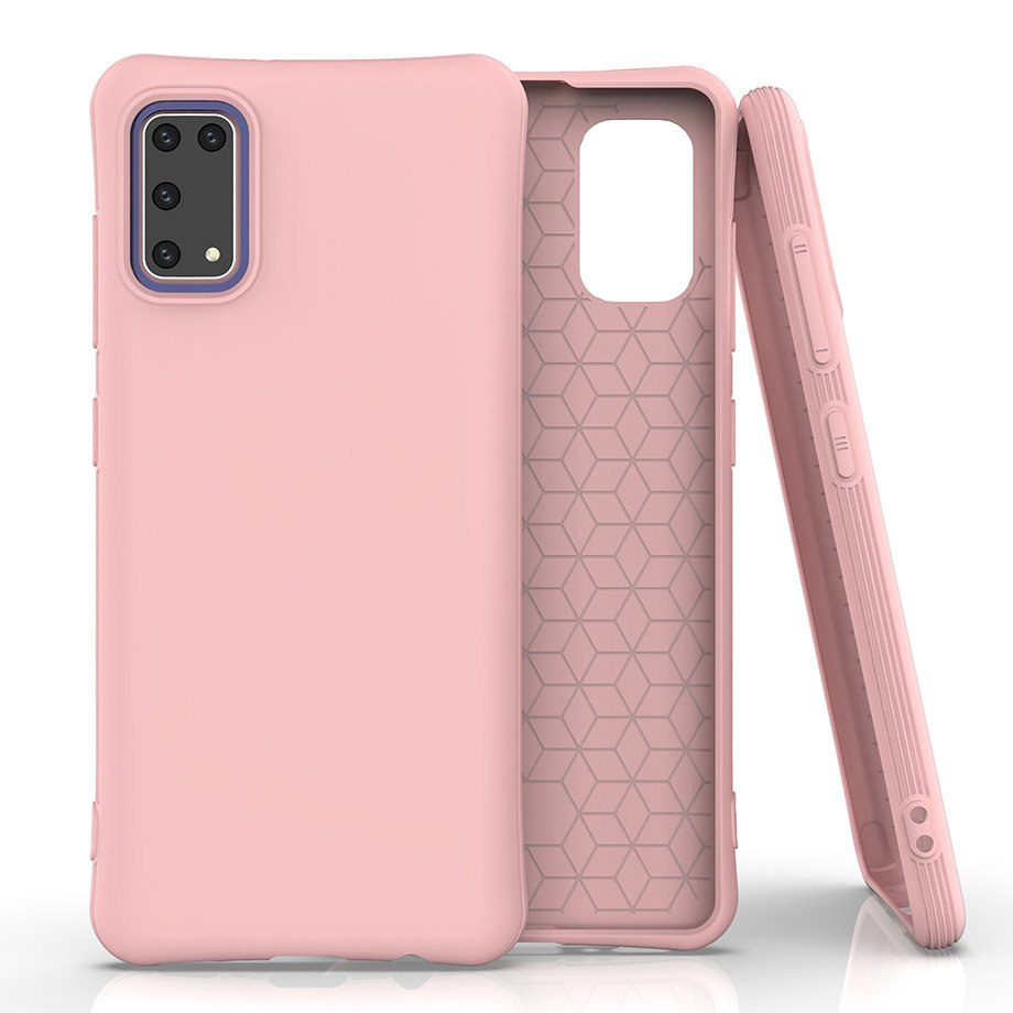 Soft Color silikonové pouzdro na Samsung Galaxy A41 Pink