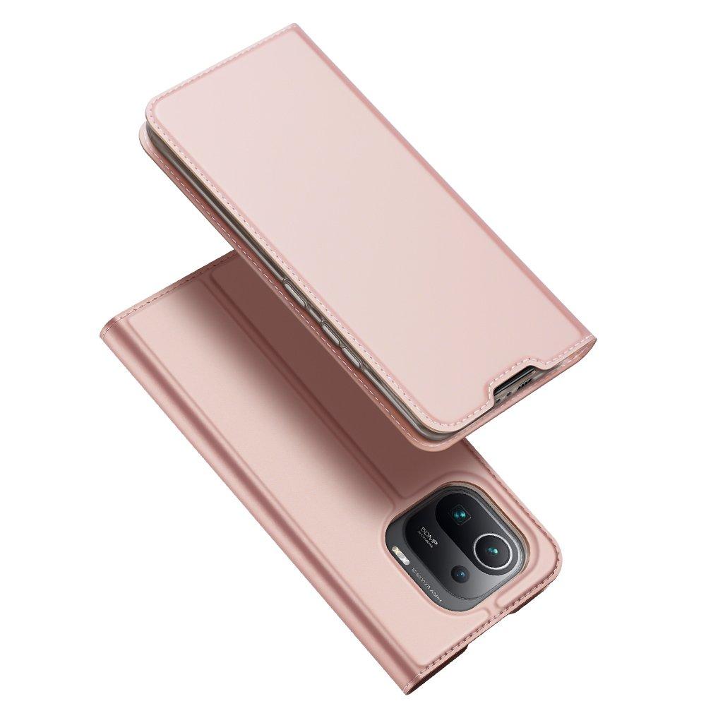 Flipové pouzdro Dux Ducis skin Xiaomi Mi 11 Pro , růžová